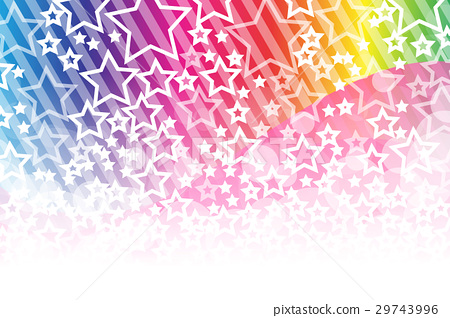 Background material, glitter, light, stardust, star dust, starry sky, cute, striped pattern, border handle, stripe, striped, 29743996