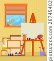 home art studio interior for artist 29745402