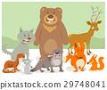wild animal characters group 29748041