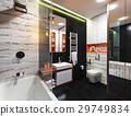 modern design of a bathroom 29749834