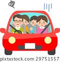 차에 어려움을 겪고있는 가족 29751557