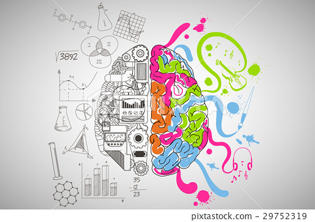 Creative and Analytical Thinking Concept. 29752319