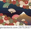 후지산, 국화꽃, 국화 29752637