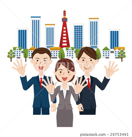 商務團隊 業務團隊 商業團隊 29753491
