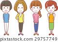 20至30歲的女性插圖 29757749