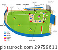 baseball sport info graphic design concept 29759611