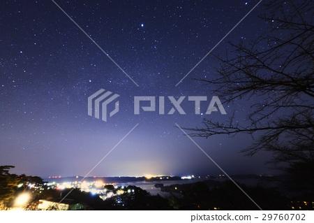 송도의 밤하늘과 은하수 · 사이 교 다시 소나무 공원 (미야기 현) 29760702