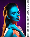 Portrait of a beautiful, seductive and young woman 29762086