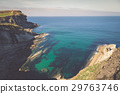Panoramic view of the coast of Santander 29763746