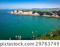 Panoramic view of the coast of Santander 29763749