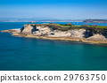 Panoramic view of the coast of Santander 29763750