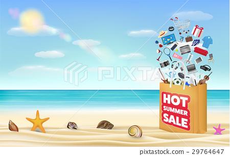 hot summer sale shopping bag 29764647