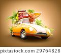 summer travel illustration 29764828