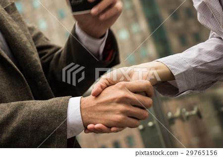 商業攝影 握手 29765156
