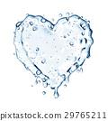 heart splash bubble 29765211
