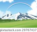 설산과 초원 29767437