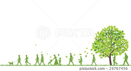 行走 步行 漫步 29767456