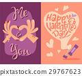 vector, heart, valentine 29767623