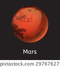 vector, galaxy, mars 29767627