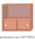 cabinet isolated illustration 29770631