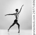 Young, handsome, sporty ballet dancer 29771606