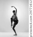 Young, handsome, sporty ballet dancer 29771612