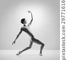 Young, handsome, sporty ballet dancer 29771616