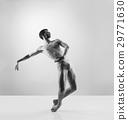 Young, handsome, sporty ballet dancer 29771630