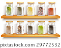 Herbs Spices Set Composition 29772532