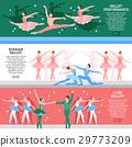 Ballet Flat Banners Set 29773209