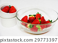 Glass ball strawberry 29773397