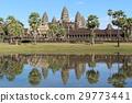푸른 하늘의 앙코르 와트 세계 유산 캄보디아 29773441