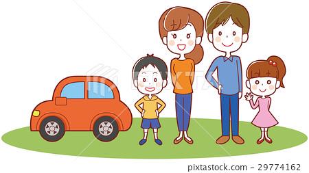ภาพประกอบรถยนต์และครอบครัวของทั้งสองครอบครัวของฉัน 29774162