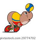 professional, cyclist, seal 29774702