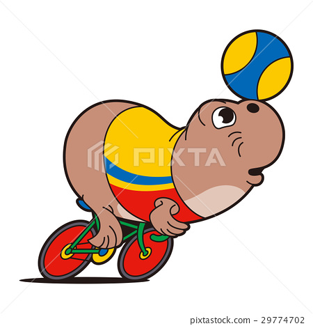 professional cyclist, seal, keirin 29774702