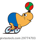 professional, cyclist, seal 29774703