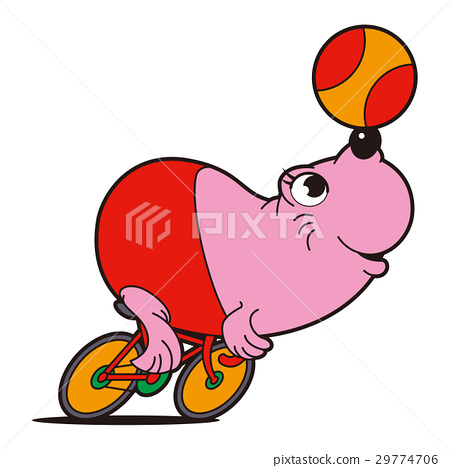 professional cyclist, seal, keirin 29774706