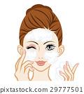 face, washing, wash 29777501