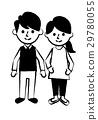 夫妻全身微笑 29780055