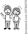 一對老年夫妻全身笑聲 29780070