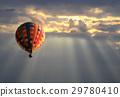 구름, 풍선, 하늘 29780410