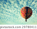 Hot air balloon in the sky 29780411