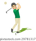 Golf Player Man 29781317