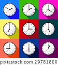 Set clock icon Vector illustration design EPS10 29781800