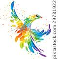 Splash fantasy bird 29781922