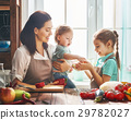 Happy family in the kitchen. 29782027