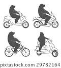 logo, motorbike, silhouette 29782164