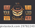 vintage, typographic, food 29782240