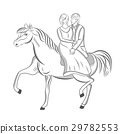 馬兒 向量 向量圖 29782553
