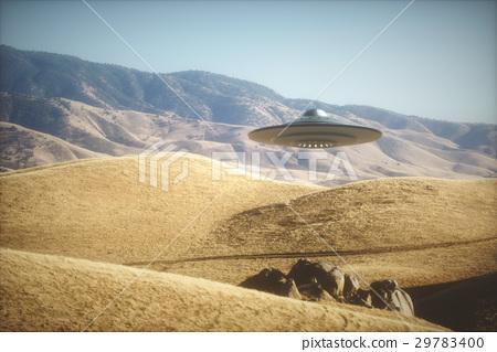 Alien Spaceship On Earth 29783400